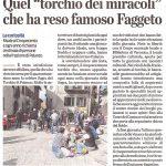 Articolo giornale Torchio